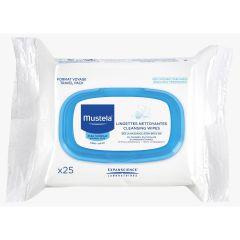 Mustela-Cleansing Wipes (25 sheets) Mustela_2916