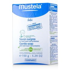 Mustela-Gentle Soap with Cold Cream Nutri-Protective (100g ) Mustela_2999