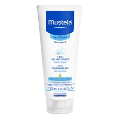 Mustela-2 in 1 Cleansing Gel (200ml) Mustela_8183
