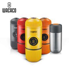WACACO Nanopresso 便攜式咖啡機 + 3合1 真空保溫杯 茶隔 水箱 NanoNanovessel