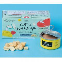 Natural10 - [貓的起床式] 牛肉嫩雞 天然主食罐 80g (1盒2個) Natural10-MorningB