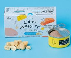 Natural10 - [貓的起床式] 火雞起司 天然主食罐 80g (1盒2個) Natural10-MorningT