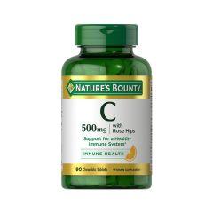 Nature's Bounty自然之寶 - 維他命C 500毫克 (添加玫瑰果油) NB3880