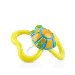 Nuby - 3D Paci-pals with Oval Baglet - Turtle NB5807MFSN-TU