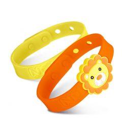 Nuby - Nuby All Natural Mosquito Repellent Bracelet - Lion NB78081-LION