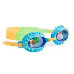 Bling2O - Swim Goggles - Nelly - Piranhas Blue Green Spikes NEL21021