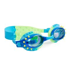 Bling2O - Swim Goggles - Nelly - Lockness Blue Yellow Spikes NEL21038