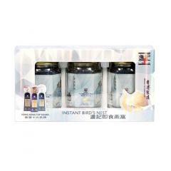 盞記 - 即食燕窩(無糖配方)(濃縮)(3X75克禮盒套裝) NEST-003