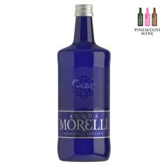Acqua Morelli Premium Mineral Water; Sparkling 750ml (Glass Bottle)