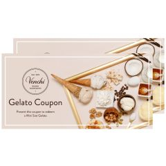 Venchi - Gelato雪糕禮券$55 (2張) (到期日: 2020年06月30日)