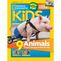 National Geographic - Kids Magazines (aged 6+) NGK_age6
