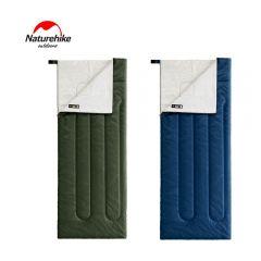 Naturehike 露營‧單人用‧保暖‧舒適‧適溫13°c ‧H150 升級版 Envelope式棉質睡袋 (大) NHK02-H150-L