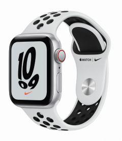 Apple Watch SE GPS + 流動網絡 44毫米 鋁金屬錶殼;Nike 運動錶帶 (2021版本)