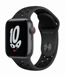 Apple Watch SE GPS + 流動網絡 40毫米 鋁金屬錶殼;Nike 運動錶帶 (2021版本)