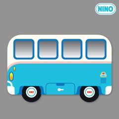 Nino Mirror Board - MiniBus Blue-Side nin_mr_00016
