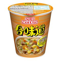 Nissin-1001-001-103 Nissin - Cup Noodles Pork Chowder Flavour [case offer]