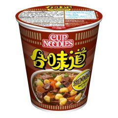 Nissin-1001-001-105 Nissin - Cup Noodles Beef Flavour [case offer]