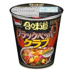 Nissin-1001-001-120 Nissin - Cup Noodles Black Pepper Crab Flavour [case offer]