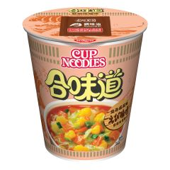 Nissin-1001-001-122 Nissin - Cup Noodles Shrimp and Miso [case offer]