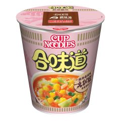 Nissin-1001-001-123 Nissin - Cup Noodles Shrimp and Salt [case offer]