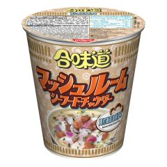 Nissin-1001-001-130 Nissin - Cup Noodles Mushroom Seafood Chowder Flavour [case offer]