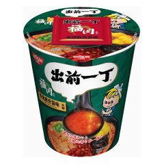 Nissin-1001-002-115 Demae Iccho Cup Type Spicy Tonkotsu Flavour [case offer]