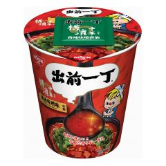 Nissin-1001-002-116 Demae Iccho Cup Type Chilli Miso Flavour [case offer]
