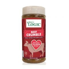 Nature's Logic - Beef Crumble Meal Topper for Dogs and Cats I 8oz NL-BeefCrumble