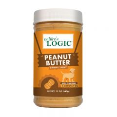 Nature's Logic - All Natural Peanut Butter for Dogs I 12oz NL-PeanutButter