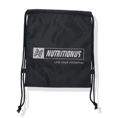Nutritionus String Bag - Black NUSBAGACCSBLK