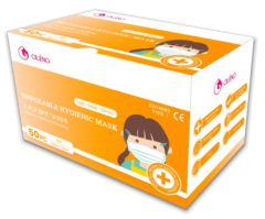 (現貨) OLENO 醫用口罩 (小童細碼) (藍色) ENT14683 Type I BFE 95% (每盒50個)