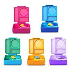 Omiebox - 美國保冷保熱三層防漏餐盒 (藍色) omiebox