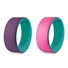 OneTwoFit - Yoga wheel Beauty back assist Backbend artifact Lower waist training yoga ring OneTwoFit_OT144