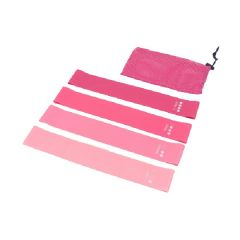 OneTwoFit - Pink gradient pull band Fitness Resistance band OneTwoFit_OT176
