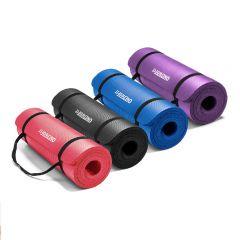 """OneTwoFit - Extra Thick NBR Yoga Mat 72"""" X 24"""" (183cm x 61cm) OneTwoFit_Yoga-mat"""