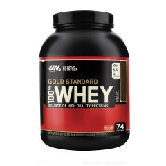 Optimum Nutrition Gold Standard Whey 5lbs - Double Rich Chocolate ONGSWBPDRCHO5LBS
