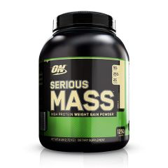 Optimum Nutrition Serious Mass Gainer 6lbs - Vanilla ONSMGMGPVAN6LBS