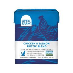 Open Farm - 走地雞三文魚燉肉貓主食糧 5.5oz Open-RB-ChickenSal