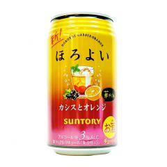 新得利 - 微醺 果汁酒葡萄橙味 3% 350毫升 (1支 / 6支 / 24支) (平行進口貨品) ORANGE_SODA_ALL