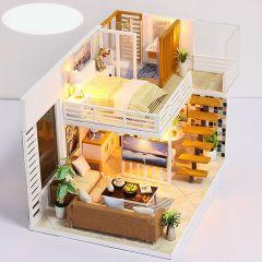 TSK Japan - 3D立體簡雅小屋創意音樂盒需手工製作拼圖A2 P2572