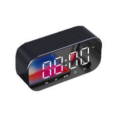 日本TSK - LED大屏無線藍牙鬧鐘時鐘充電式喇叭音箱 (2 款顏色)