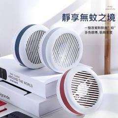日本TSK - 光波誘蚊靜音無輻射USB插電純物理滅蚊器可貼牆 (藍色 / 紅色 / 灰色)