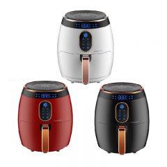Proluxury 普樂氏 - 3.5公升智能無油空氣炸鍋 (珍珠白 / 火焰紅 / 型格黑) PAF035_all