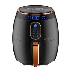 Proluxury - 3.5L Smart Air Fryer (White / Red / Black) PAF035_all