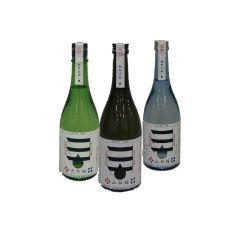Miyoshi - Sake Set 720ml (Blue/Black/Green)(1 Set