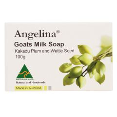 Angelina - Goats Milk Soap kakadu Plu & Wattle Seed PC2621