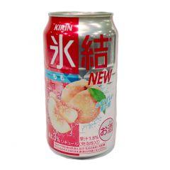 麒麟 - 冰結汽酒 白桃味 3% 350毫升 (1支 / 6支 / 24支) (平行進口貨品) PEACH_ALL