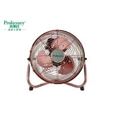 """PROLUXURY 9"""" FLOOR FAN (Copper Color) PFF701009"""