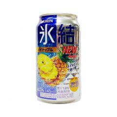 麒麟 - 冰結汽酒 菠蘿味 5% 350毫升 (1支 / 6支 / 24支) (平行進口貨品) PINEAPPLE_ALL