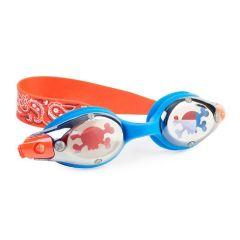 Bling2O - Swim Goggles - Pirates - Battleship Blue PIR20970